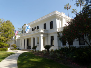 The home of Consul Paloheimo and his wife Leonora is now a part of the History Museum of Pasadena, California